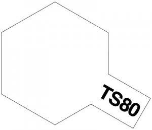 TS-80・タミヤ製 TS-80 フラットクリヤー タミヤスプレー