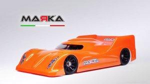 MRK-8030・MARKA RACING製 MINI-Z LEXAN RK-AMR PAN CAR BODY - REGULAR