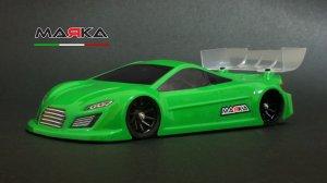 MRK-8028・MARKA RACING製 MINI-Z RK-TWR RACING LEXAN BODY KIT (98MM W/B) - REGULAR