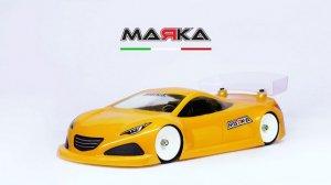 MRK-8024・MARKA RACING製 MINI-Z RK-HC RACING LEXAN BODY KIT (98MM W/B) - REGULAR