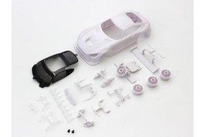 MZN198・京商製 メルセデス AMG GT3 ホワイトボディセット未塗装ホイル付
