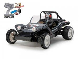 57885・タミヤ製XBシリーズ(完成モデル)1/10RC XB RCバギー・くまもんバージョン (DT-02シャーシ) ブラック