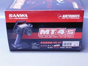 USED-0664・サンワ製 MT-4S ドリフトセット(F2500/ERS-971/RX-381)未使用品