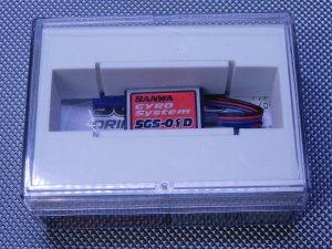 USED-0687・サンワ製 SGS-01D ドリフトカー専用ジャイロ 未使用品