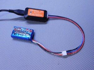 YYGL-004・YYRC製 GL&Atomic製Lipoバッテリーバランス充電コード