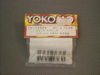 YS-14525・ヨコモ製 プロ ショックスプリング(ショートタイプ・ステンレス,2本入)【MR-4 TC用】