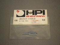 A186・HPI製 スタッドシャフト 4-40×18 (NITRO RS4)