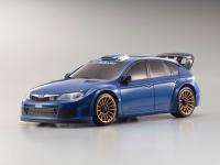 MZP414MB・京商 MINI-Z DIS ASC MA-010&015 インプレッサ WRC2008 ブルー