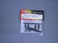 FP4010B・テック製 F104Ver2 アルミステアリングロッド BK