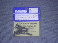 AJ-3813M・カワダ製 ロッドアジャスター モリブデン入 φ3.8mm(L=13)