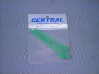 CR325・セントラルRC製 ボディークリップ 蛍光グリーン・1/10用ロング