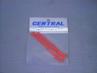 CR326・セントラルRC製 ボディークリップ 蛍光ピンク・1/10用ロング