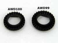 AWD099・RC Atomic AWD One-Way Nylon Spare Gear (28T)