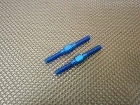 新品アルミターンバックル ブルー 3×32 (2本入り)