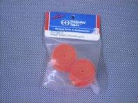 PD7283-O・サンダータイガー製 フロントホイール オレンジ