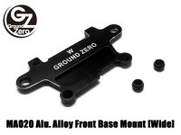 GZMA020-01W・GROUND ZERO製 MA020 Alu. Alloy Front Base Mount [Wide]