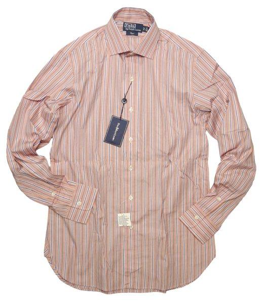 Polo Ralph Lauren ポロラルフローレン ストライプ ドレスシャツ【$145】[新品] [082]
