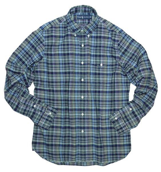 Polo Ralph Lauren ポロラルフローレン マドラスチェック ボタンダウンシャツ [新品] [080]