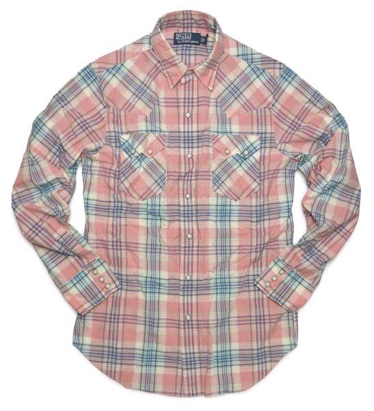 Polo Ralph Lauren ポロラルフローレン ウエスタンシャツ【$125】[新品] [107]