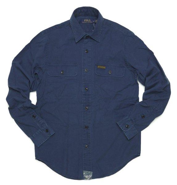 Polo Ralph Lauren ポロラルフローレン コットンツイル ワークシャツ【$79.50】 [新品] [109]