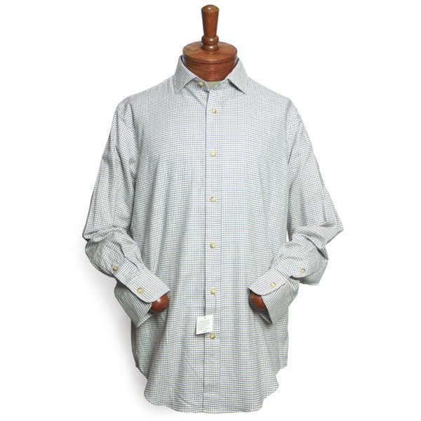 Polo Ralph Lauren ポロラルフローレン フランネル スプレッドカラー ドレスシャツ【$100】 [新品] [118]