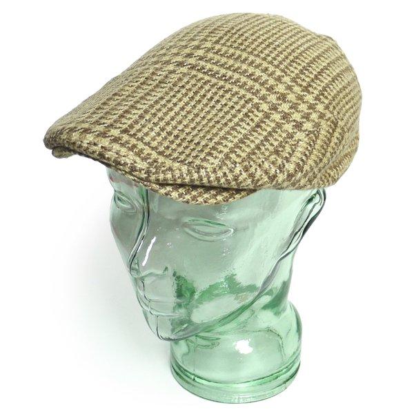 Polo Ralph Lauren ポロラルフローレン 千鳥格子 ハンチングキャップ ドライビングキャップ 帽子【$65】 [新品] [031]