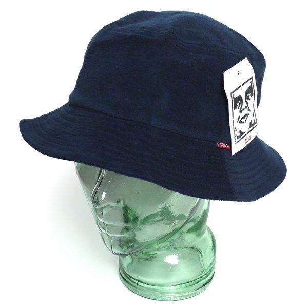 OBEY オベイ パイル素材 バケットハット 帽子 [新品] [003]