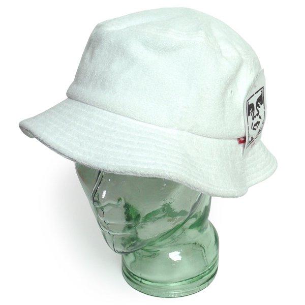 OBEY オベイ パイル素材 バケットハット 帽子 [新品] [004]