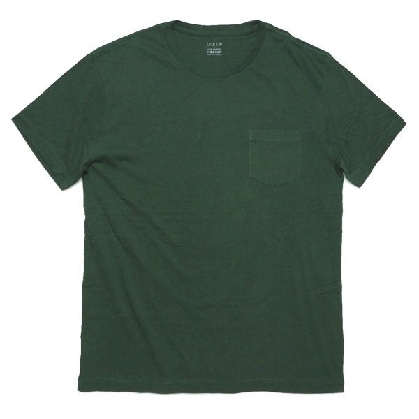 J.Crew ジェイクルー 無地 ポケットTシャツ [新品] [038]