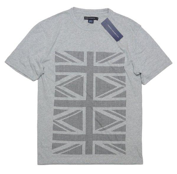 French Connection フレンチコネクション ユニオンジャック グラフィックTシャツ [新品] [004]