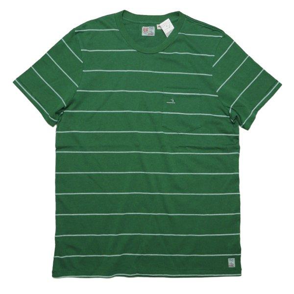 M.Nii エムニーイ ボーダー柄 ポケットTシャツ【$88】[新品] [002]