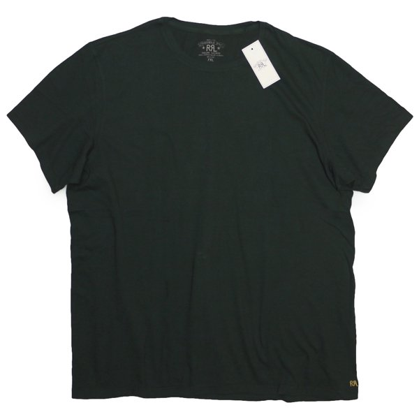 RRL ダブルアールエル 無地T チューブTシャツ【$65】 [新品] [022]
