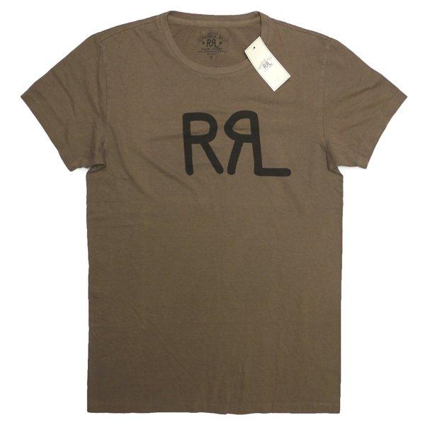 RRL ダブルアールエル ロゴプリント チューブTシャツ【$75】 [新品] [018]