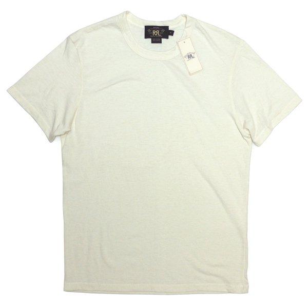 RRL ダブルアールエル オートミール 無地Tシャツ【$95】 [新品] [017]
