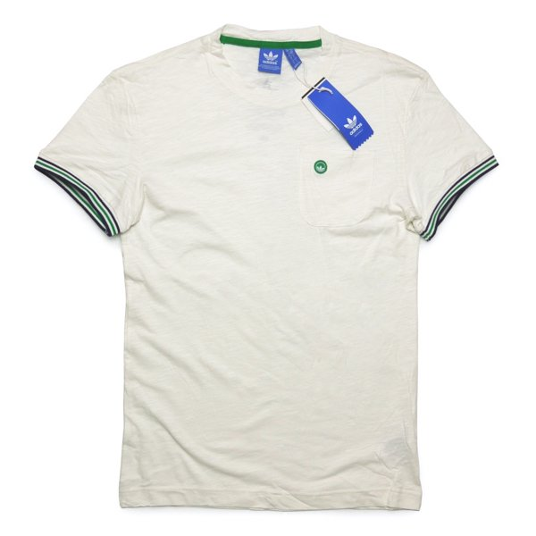 adidas Originals Stan Ringer Tee アディダス オリジナルス スタンスミス リンガーTシャツ ポケT [新品] [020]