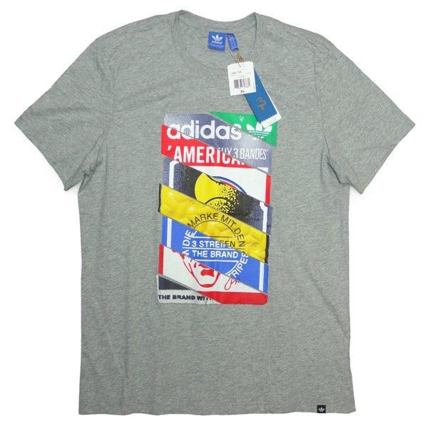 adidas Originals Label Tee アディダス オリジナルス グラフィックプリントTシャツ [新品] [023]