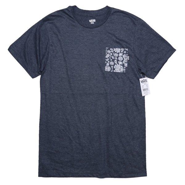 Vans バンズ ペイズリー柄 ポケットTシャツ [新品] [013]