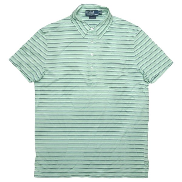 Polo Ralph Lauren ポロラルフローレン ボーダーポロシャツ【$79.50】[新品] [022]
