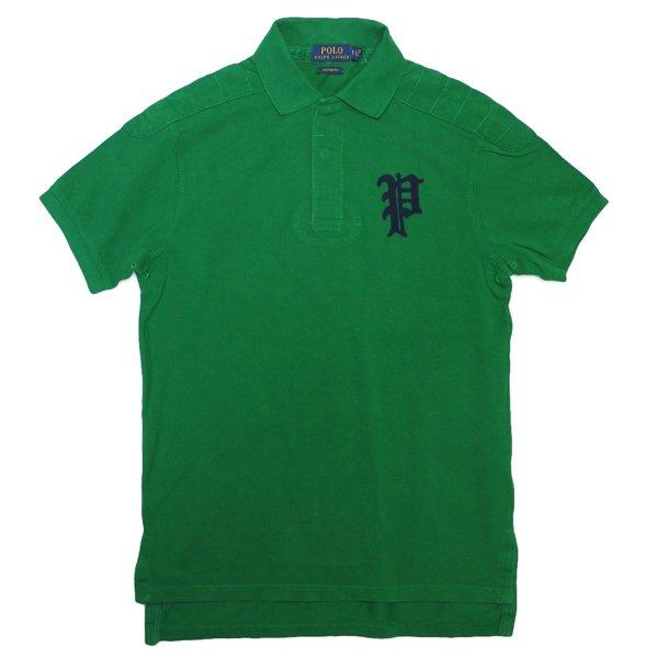 Polo Ralph Lauren ポロラルフローレン 鹿の子ニット ポロシャツ【$98】 [新品] [044]