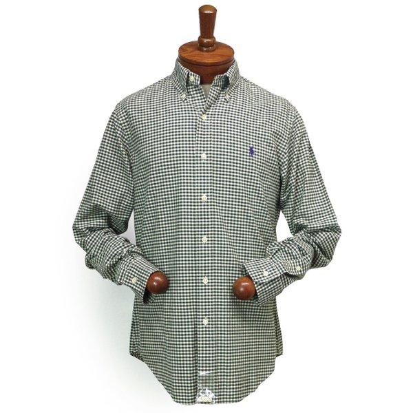 Polo Ralph Lauren ポロラルフローレン ギンガムチェック オックスフォードシャツ ボタンダウンシャツ [新品] [075]