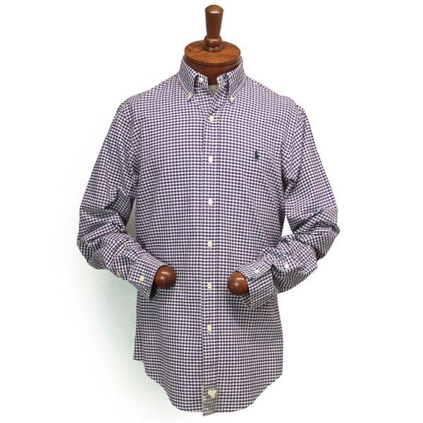Polo Ralph Lauren ポロラルフローレン ギンガムチェック オックスフォードシャツ ボタンダウンシャツ [新品] [077]