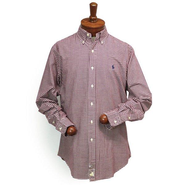 Polo Ralph Lauren ポロラルフローレン ギンガムチェック オックスフォードシャツ ボタンダウンシャツ [新品] [078]
