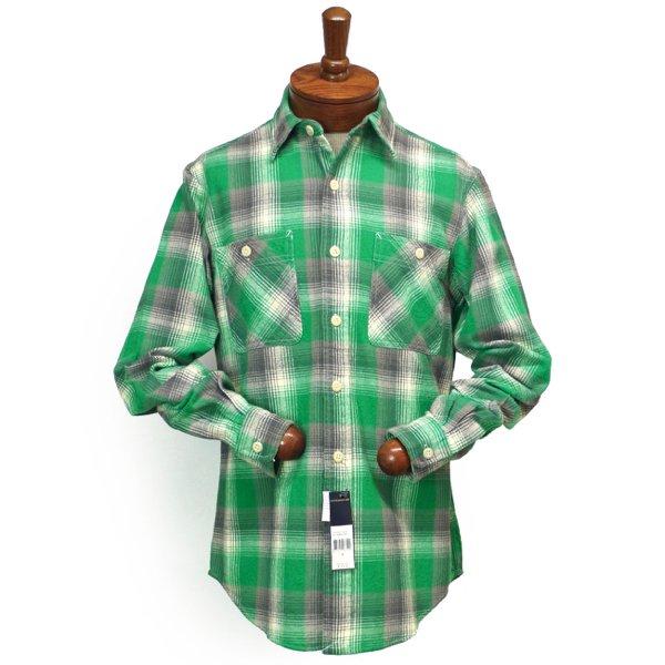 Polo Ralph Lauren ポロラルフローレン フランネルシャツ【$125】[新品] [005]