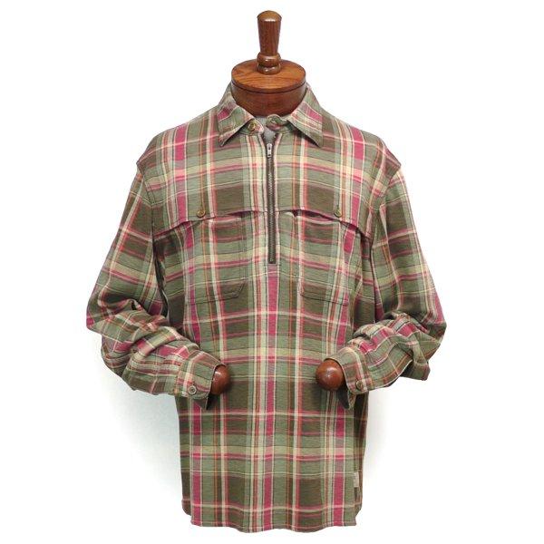 Polo Ralph Lauren ポロラルフローレン プルオーバー ニットシャツ フランネルシャツ【$195】 [新品] [051]