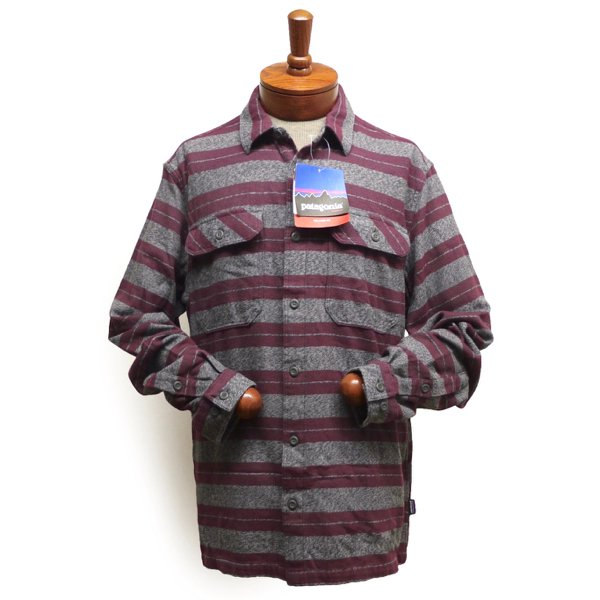 Patagonia Fjord Flannel Shirt パタゴニア フィヨルド フランネルシャツ オーガニックコット [新品] [001]