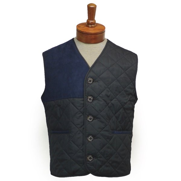 940bc4f7fdb3c Barbour Tailored Waistcoat バブアー キルティングベスト ウェストコート [新品] [036]