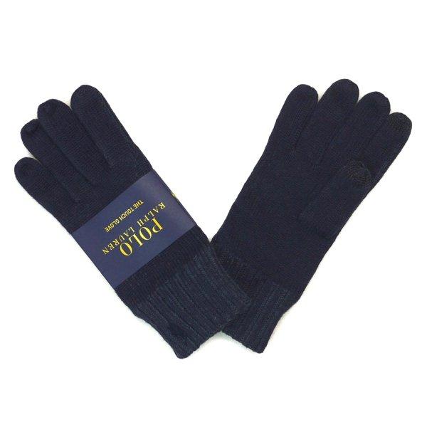 Polo Ralph Lauren Touch Glove ポロラルフローレン タッチグローブ ニット手袋 スマホ対応 [新品] [006]