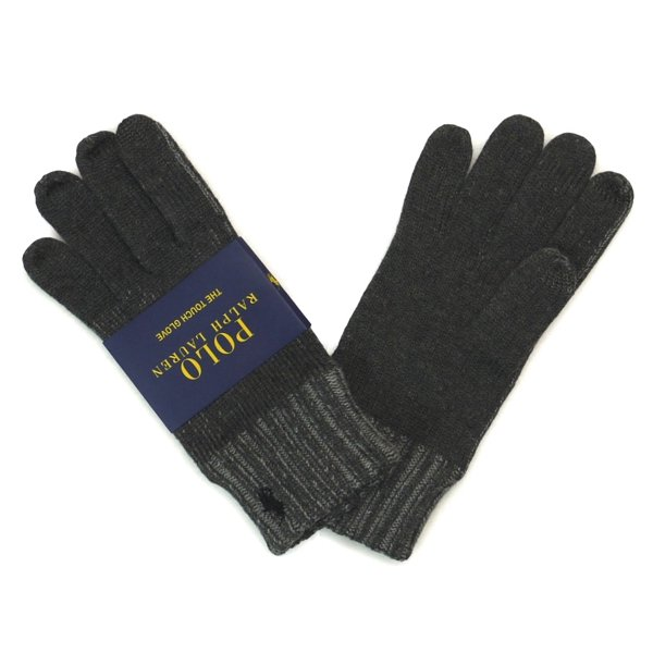 Polo Ralph Lauren Touch Glove ポロラルフローレン タッチグローブ ニット手袋 スマホ対応 [新品] [005]