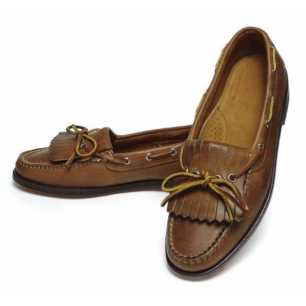 Eastland イーストランド キルトタッセルモカシン ローファー レザーシューズ 革靴【$385】[新品] [004]