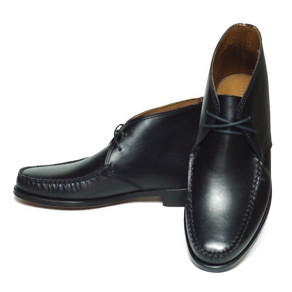 Ralph Lauren Enville ラルフローレン モカシン チャッカーブーツ レザーシューズ ドレスシューズ 革靴【$495】[新品] [024]